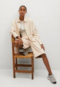 Mango - TRAVELER - Faux leather jacket - écru - 5