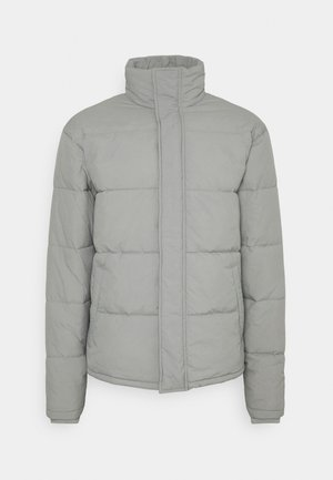UNISEX ESSENTIAL RECYCLED PUFFER JACKET - Winter jacket - grey