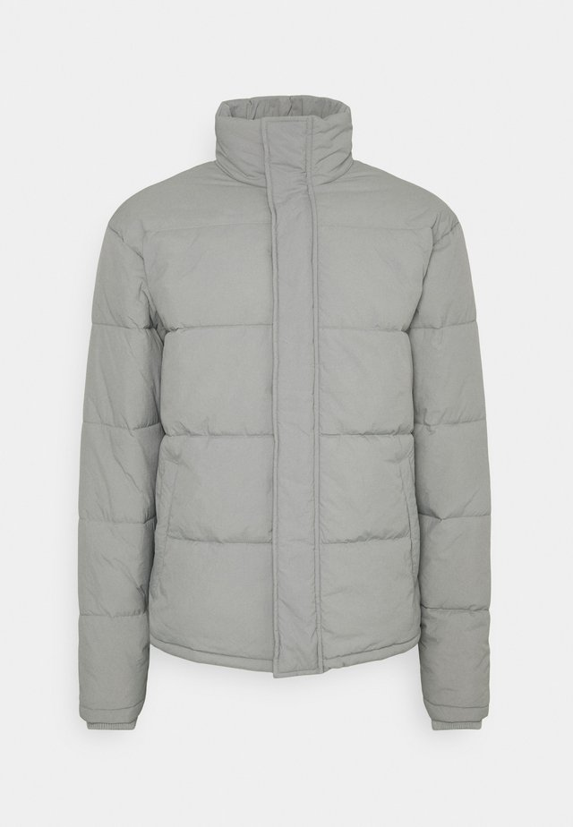 UNISEX ESSENTIAL RECYCLED PUFFER JACKET - Kurtka zimowa - grey