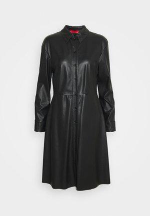 DANUBIO - Blusenkleid - black