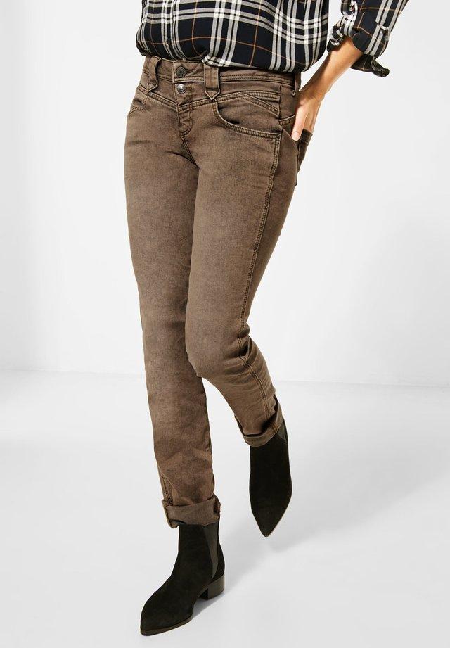 STYLE - Slim fit jeans - braun