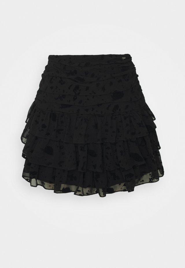 SYA SKIRT - Mini skirts  - black