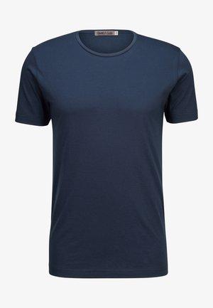 EGON - Basic T-shirt - marino