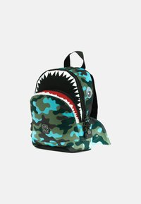 pick & PACK - SHARK - Rucksack - camo hellblau - 2