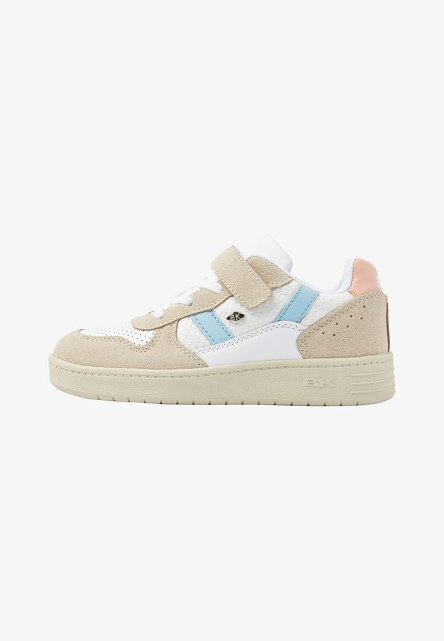 RAWW - Sneakers laag - white/blue/peach