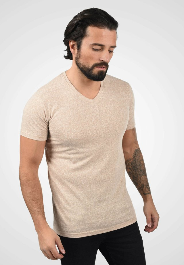 Print T-shirt - curds & whey melange