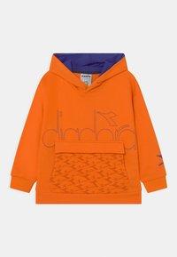 Diadora - HOODIE HOOPLA UNISEX - Sweater - persimmon orange - 0