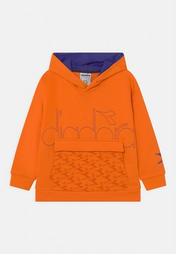 HOODIE HOOPLA UNISEX - Sweatshirt - persimmon orange