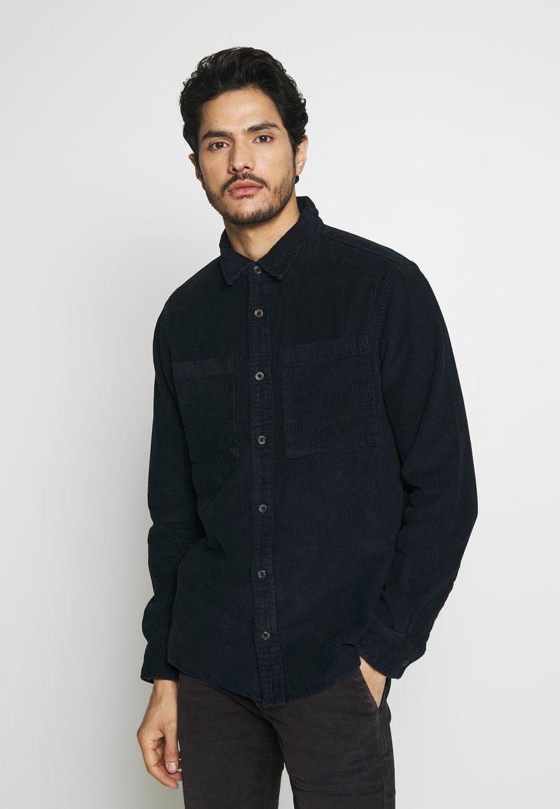 Burton Menswear London - CHUNKY  - Skjorta - navy