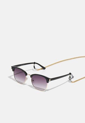 CHAIN UNISEX SET - Sunglasses - black