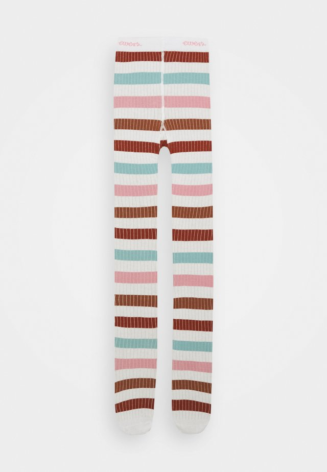 STRIPES - Collants - latte