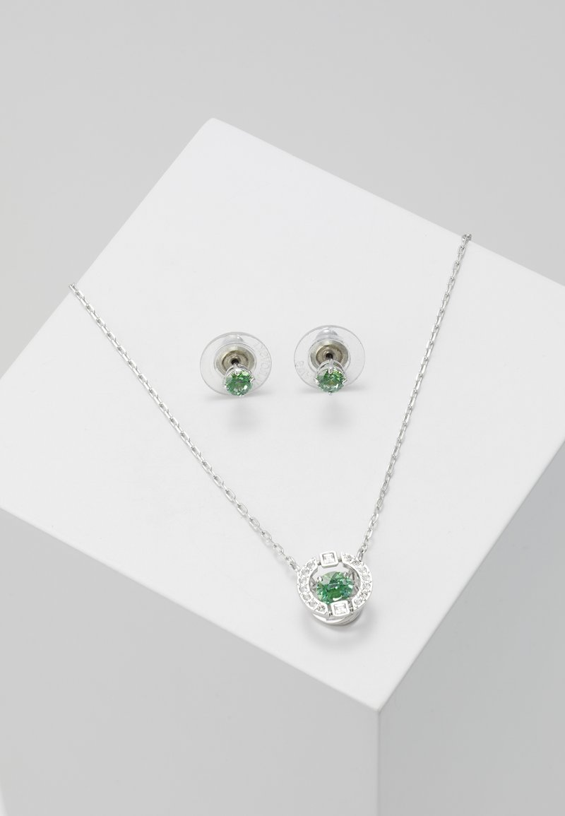 Swarovski - SPARKLING SET - Kolczyki - fancy green
