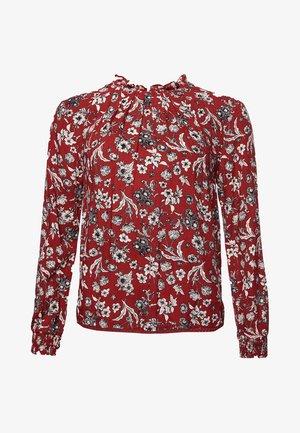 RICHELLE HIGH NECK  - Blouse - ruby floral