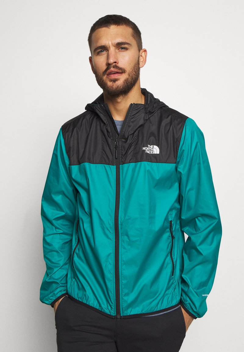The North Face - MENS CYCLONE 2.0 HOODIE - Veste imperméable - black/fanfare green