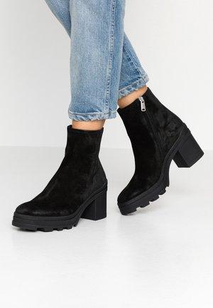 Platform ankle boots - diana nero