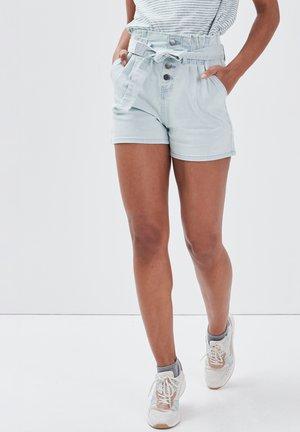 Shorts - denim bleach