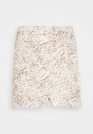 PRINTED FAKE OUT WRAP - Minihame - beige