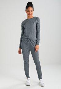 New Look - CREW NECK - Jumpsuit - grey marl - 2