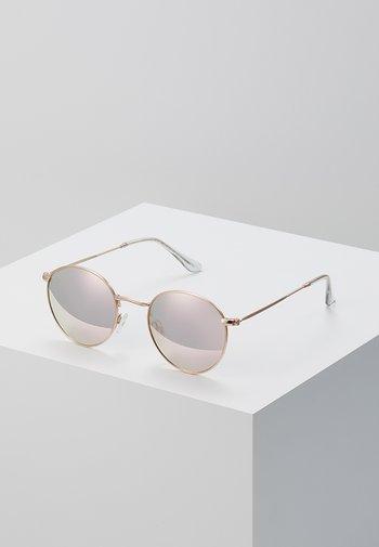 LIAM UNISEX - Sunglasses - rosegold-coloured/pink
