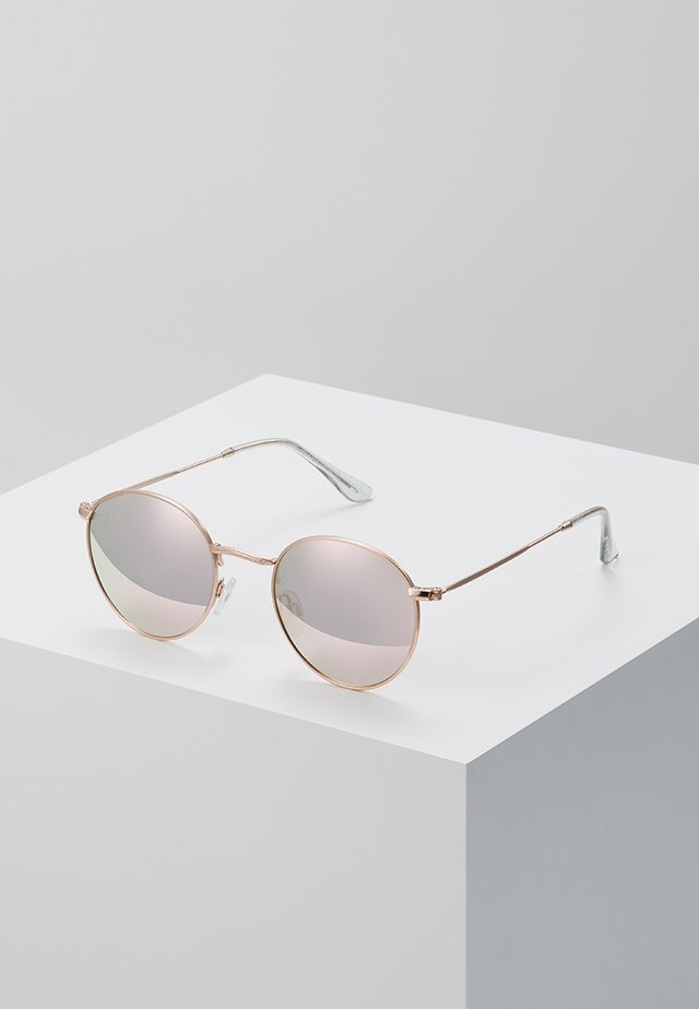 LIAM - Sunglasses - rosegold-coloured/pink