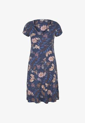 Vestido ligero - navy floral design