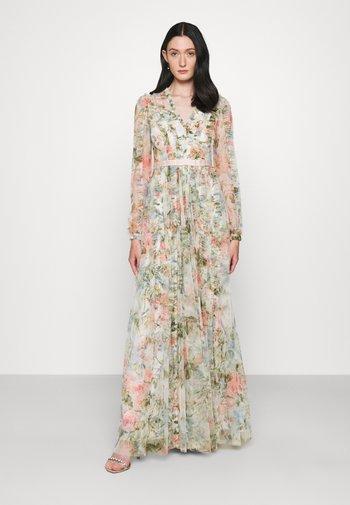 ROSE GARDEN V NECK GOWN - Maxi dress - multi
