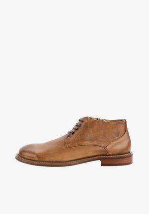 DATTI - Šněrovací boty - beige