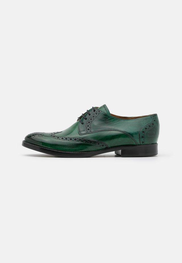 AMELIE  - Šněrovací boty - pine