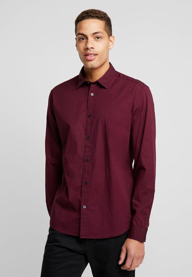 Shirt - bordeaux red