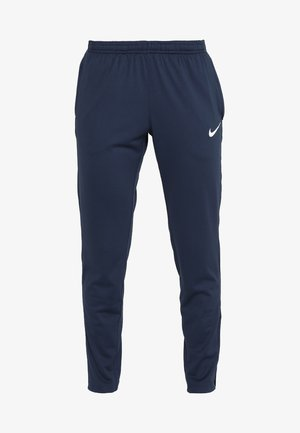 DRY PANT  - Tracksuit bottoms - obsidian/white