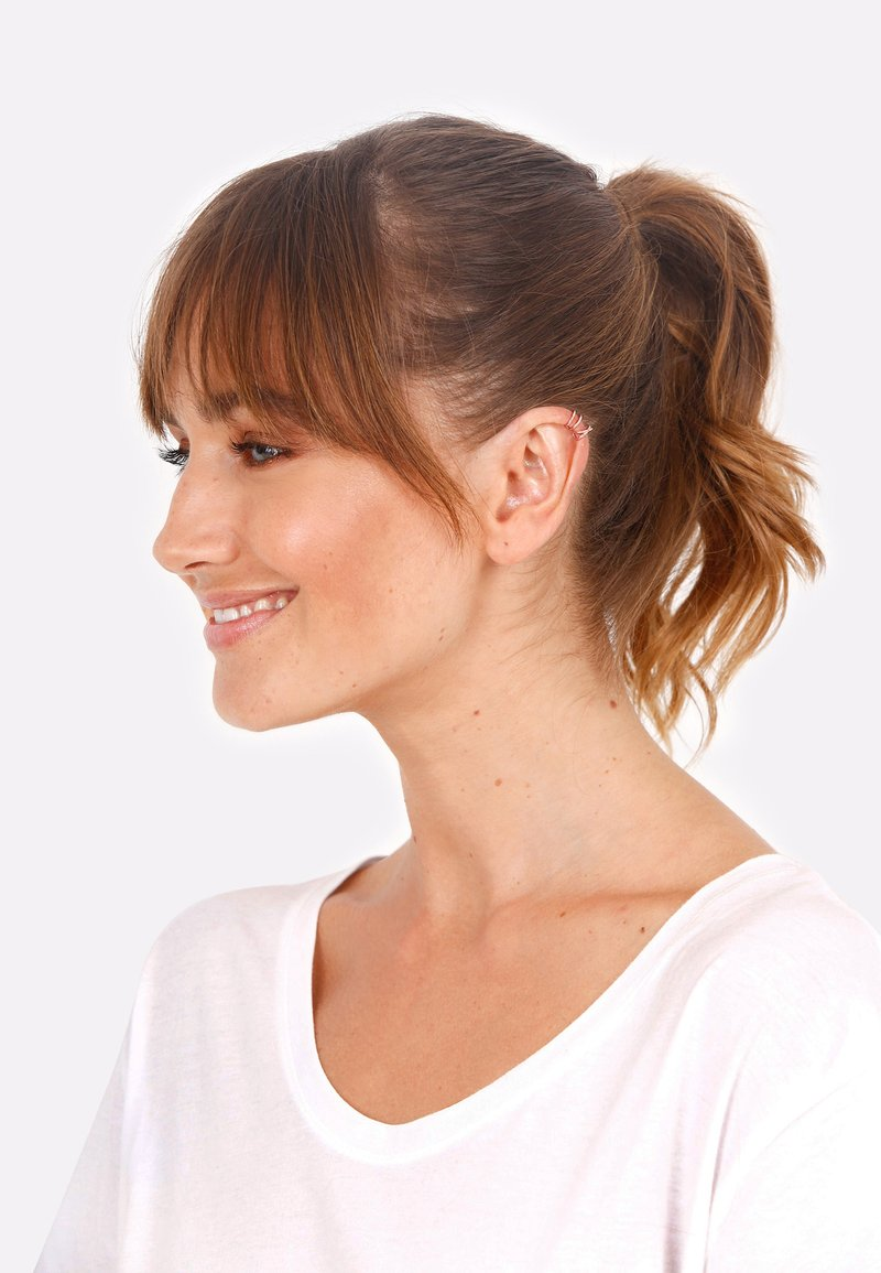 Elli - SET GEO BASIC MINIMAL  PASOTA - Earrings - pink gold