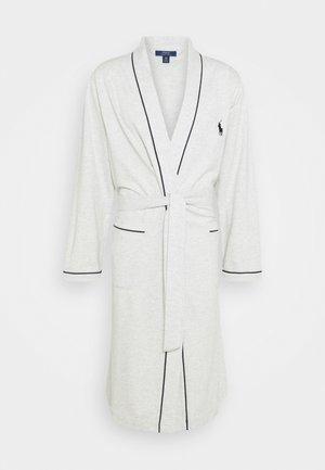 LOOP BACK  - Dressing gown - english hthr crui