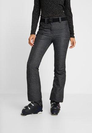 WOMAN PANT - Pantaloni da neve - nero melange