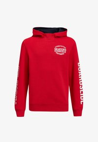 WE Fashion - Hoodie - bright red - 0