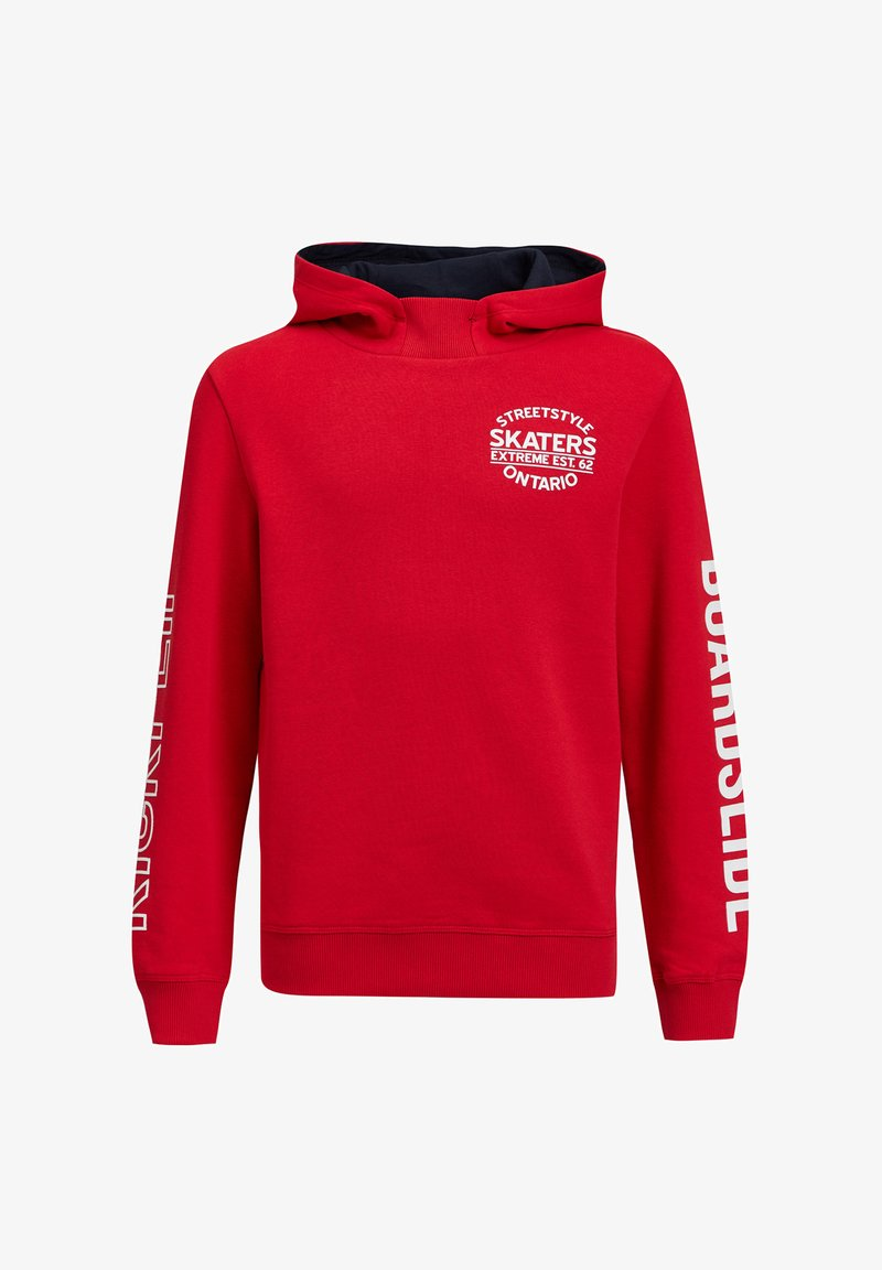 WE Fashion - Hoodie - bright red
