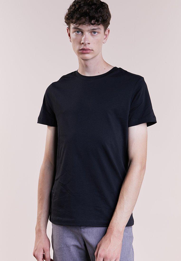 Bruuns Bazaar - GUSTAV - Jednoduché triko - black