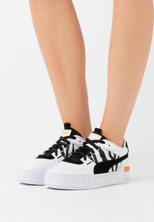 CALI SPORT CATS - Sneaker low - white/black