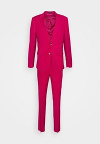GENTS TAILORED FIT SUIT SET - Puku - red