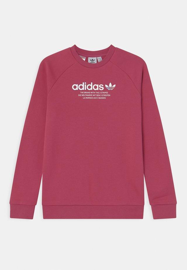 TRI COLOUR CREW - Sweatshirt - wild pink