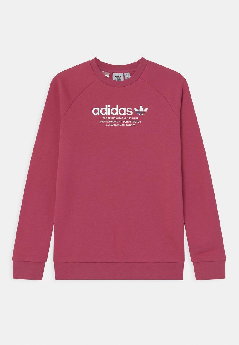 adidas Originals - TRI COLOUR CREW - Sweatshirt - wild pink