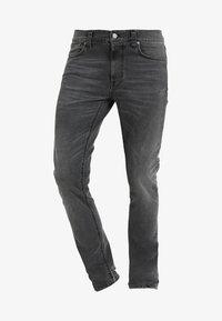 Nudie Jeans - LEAN DEAN - Jeans slim fit - mono grey - 4