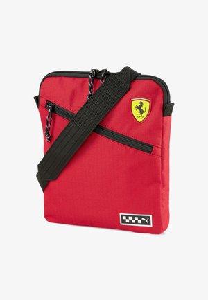 SCUDERIA FERRARI - Across body bag - rosso corsa