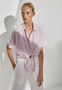 Massimo Dutti - Blouse - neon pink - 0