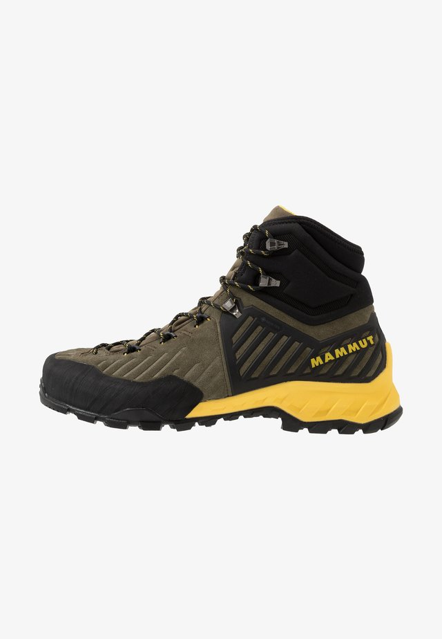 ALNASCA PRO II MID GTX MEN - Hikingskor - tin/black