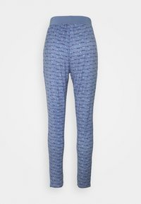 TOM TAILOR - TROUSERS LONG - Pyjama bottoms - blue-medium-allover - 1