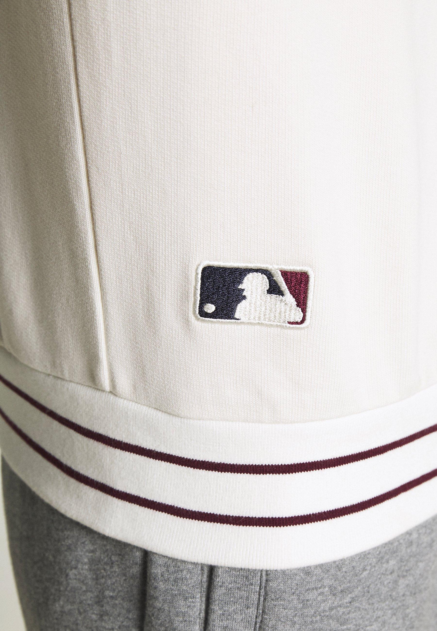 Kustannus Miesten vaatteet Sarja dfKJIUp97454sfGHYHD New Era MLB HERITAGE SCRIPT CREW BOSTON RED SOX Collegepaita beige