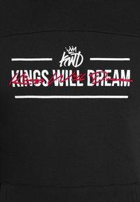 Kings Will Dream - BOCKLEY OVERHEAD - Hoodie - black - 5