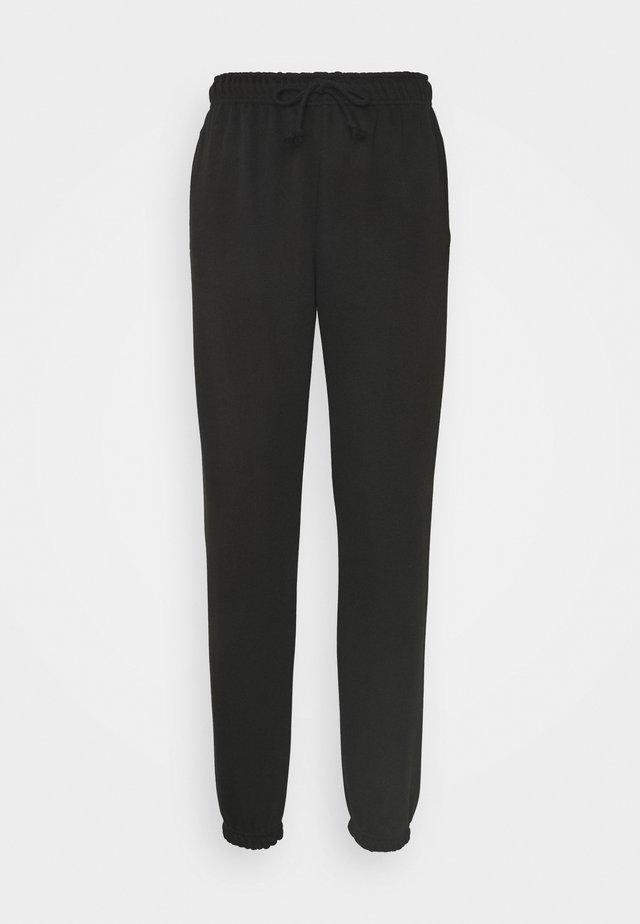 LOUNGEWEAR JOGGER - Tracksuit bottoms - black