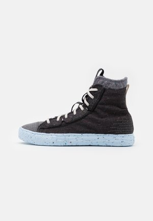 CHUCK TAYLOR ALL STAR CRATER - High-top trainers - black/dark grey/light grey