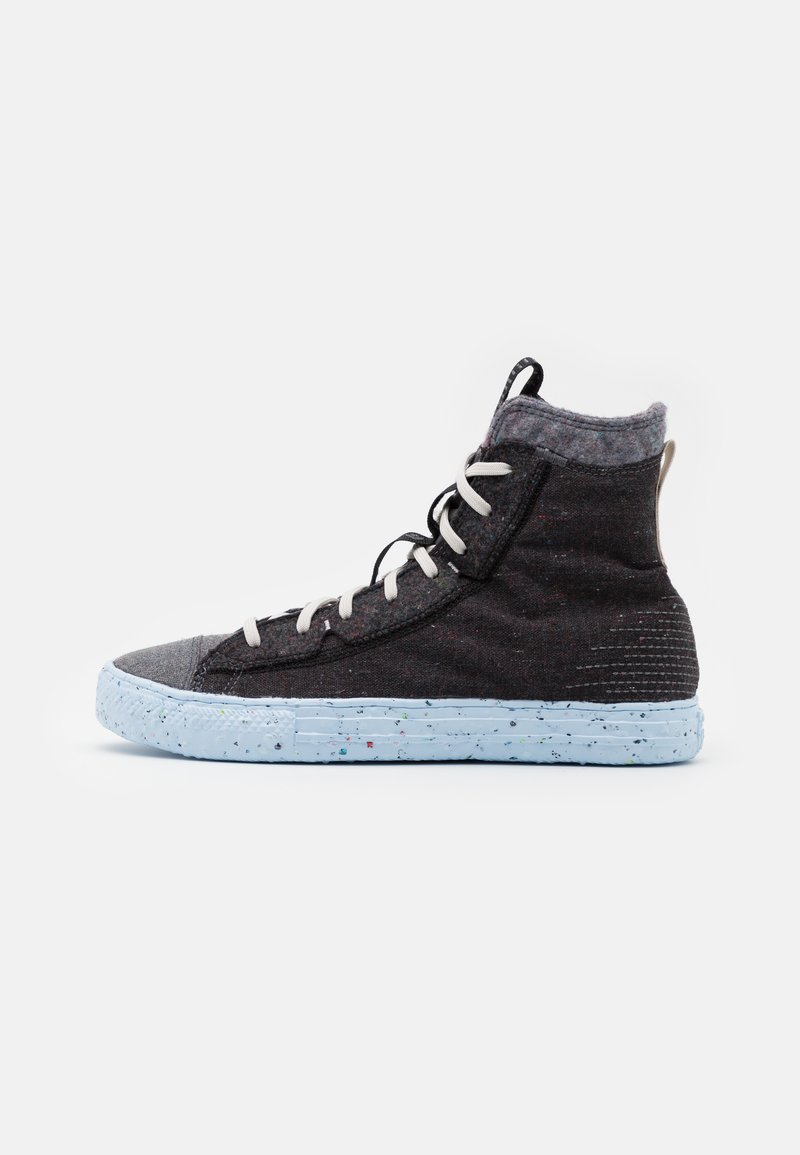 Converse - CHUCK TAYLOR ALL STAR CRATER - High-top trainers - black/dark grey/light grey